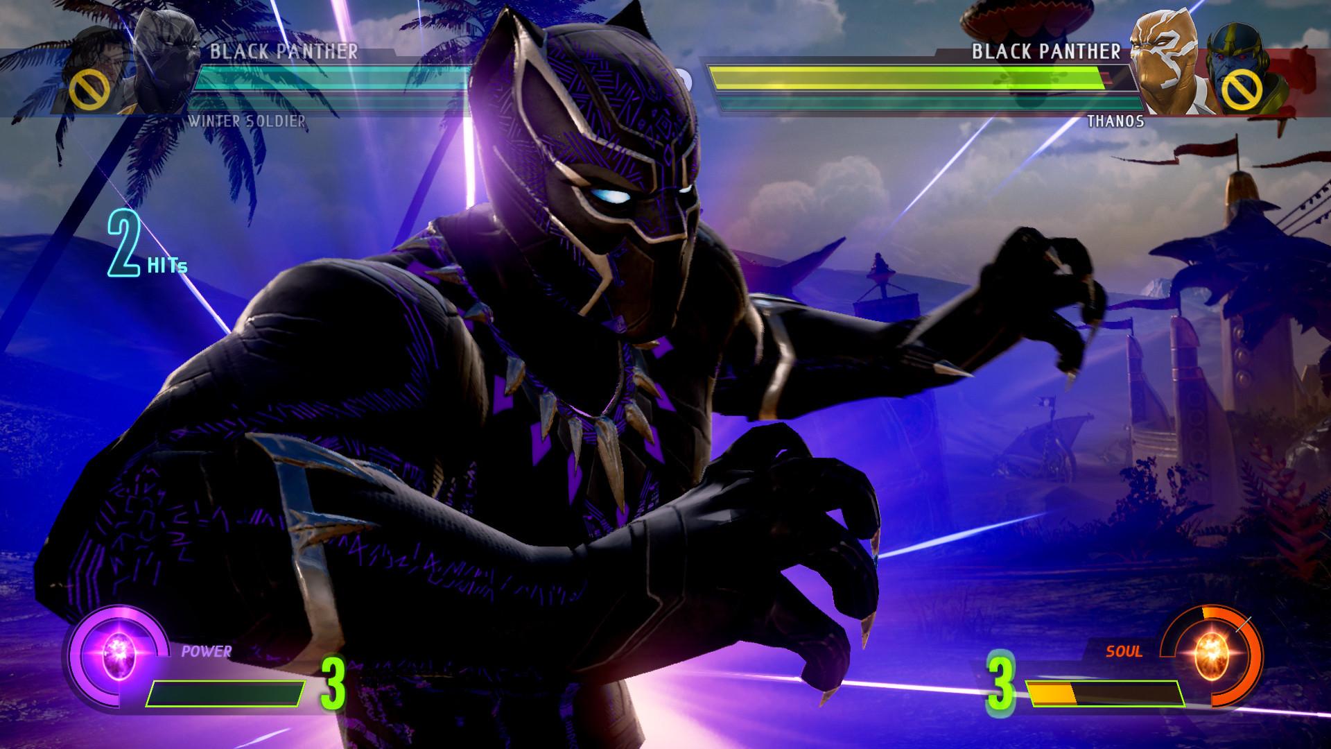 Artstation Black Panther Killmonger For Marvel Vs Capcom