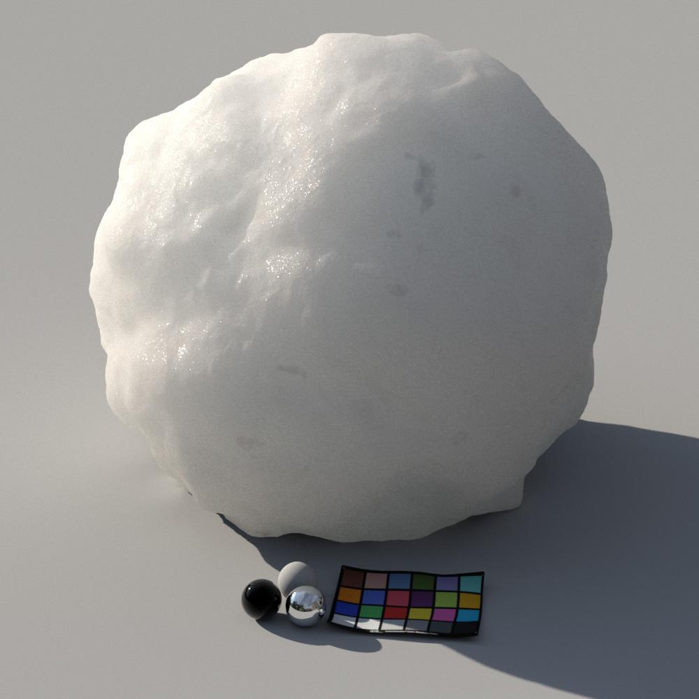 shading study_snow