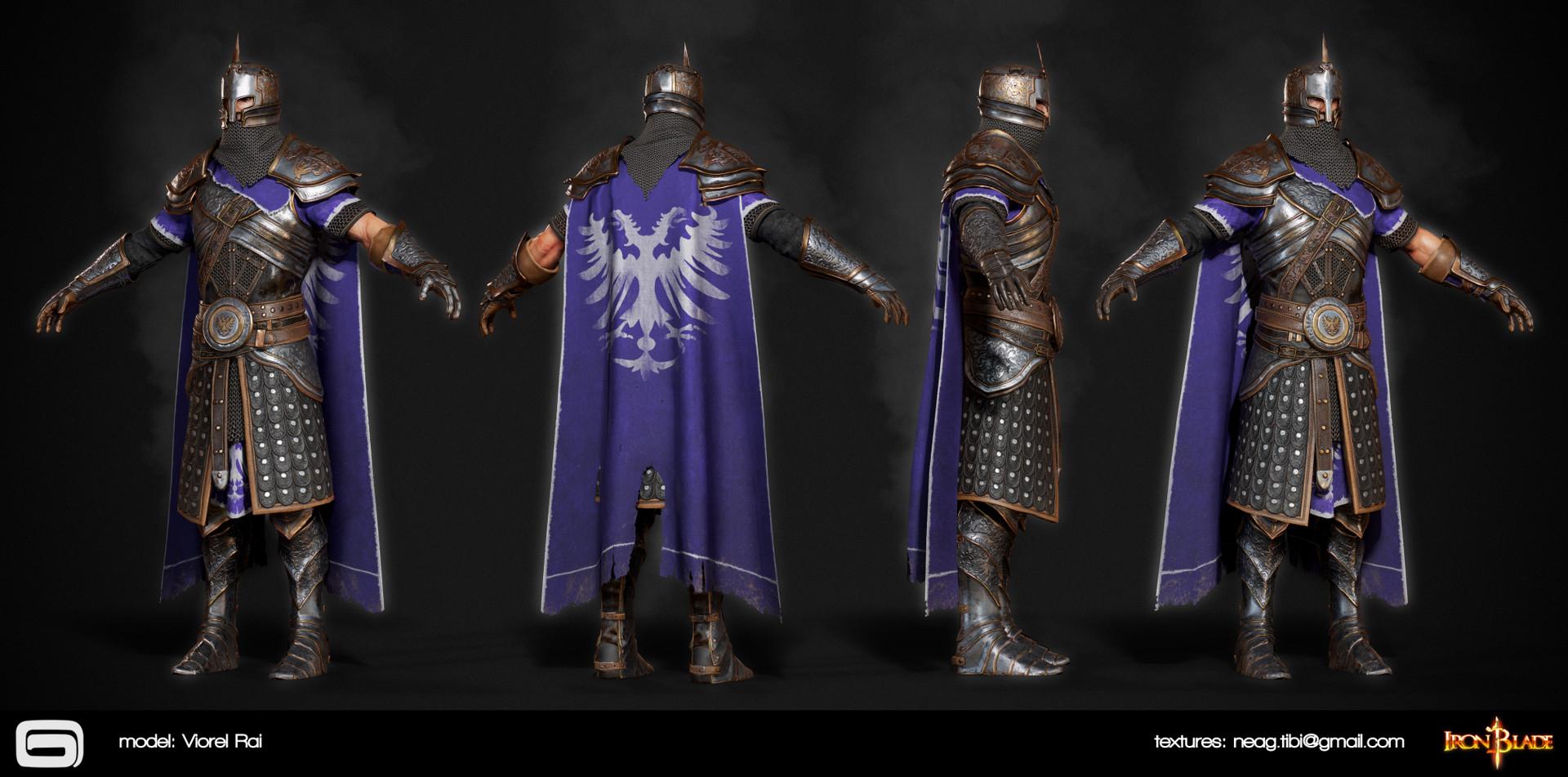Tibi neag tibi neag iron blade mc armor 05b2