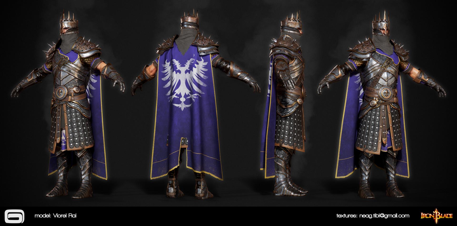 Tibi neag tibi neag iron blade mc armor 05c2