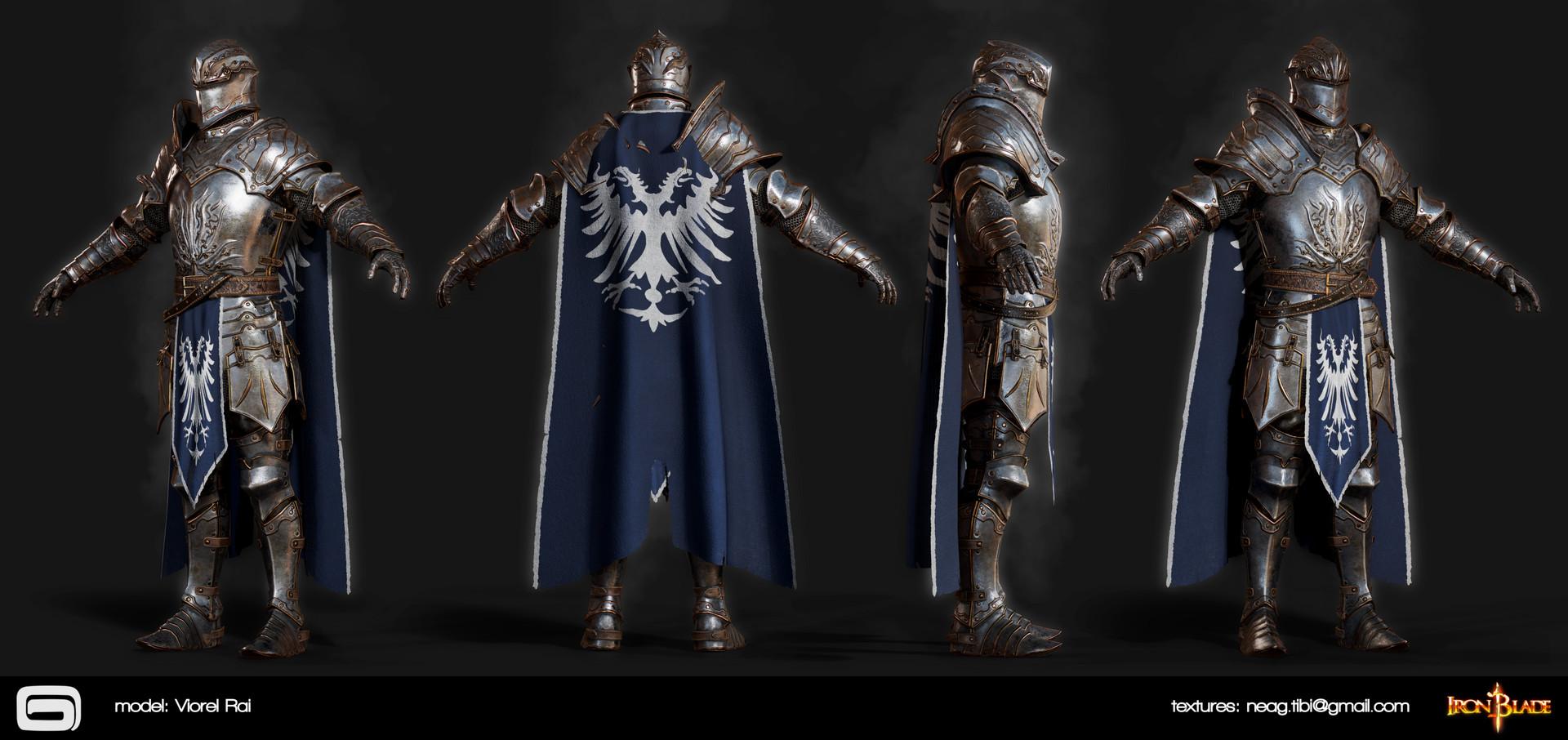 Tibi neag tibi neag iron blade mc armor 07a2