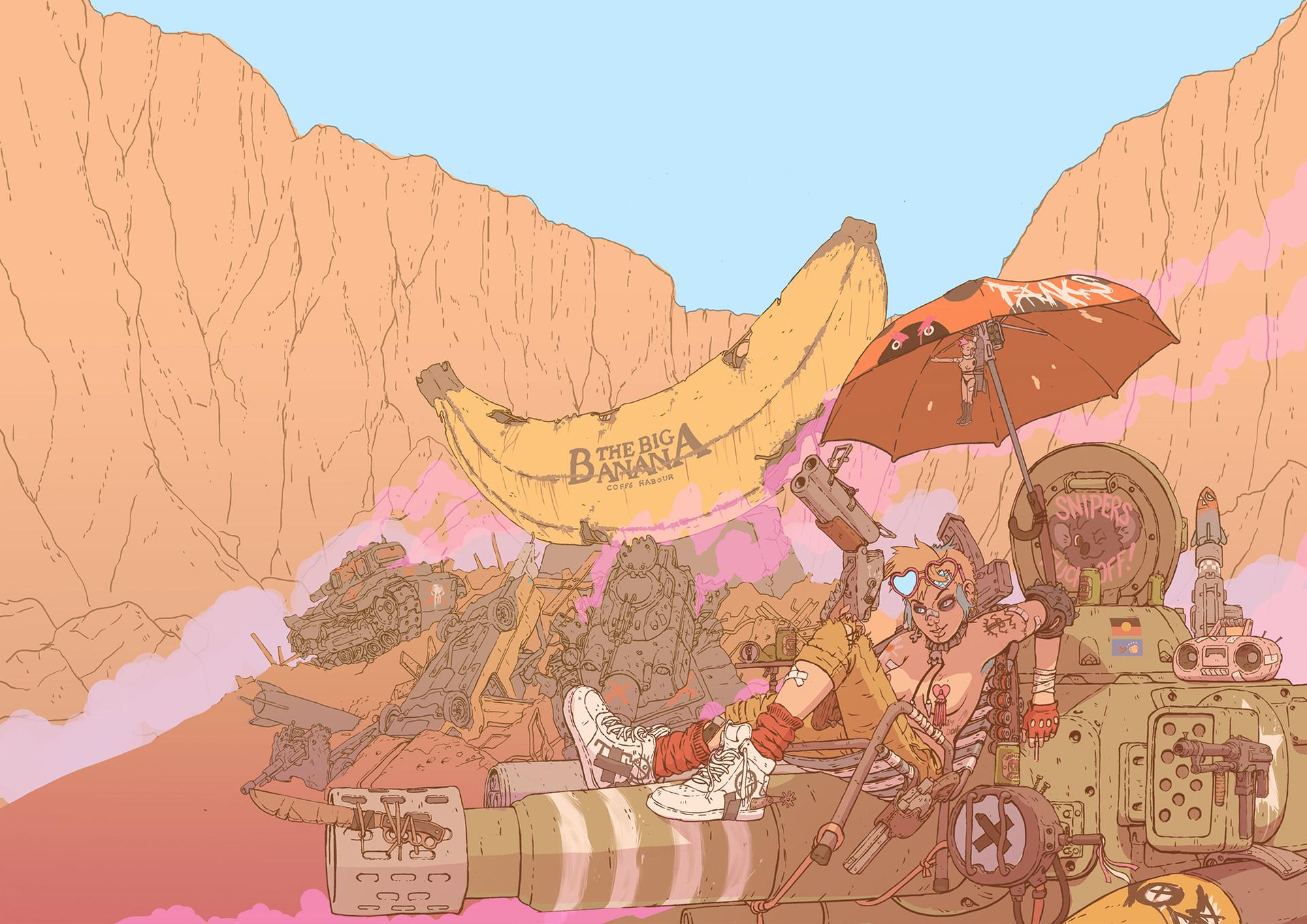 Max prentis tank girl and the battle of big banana