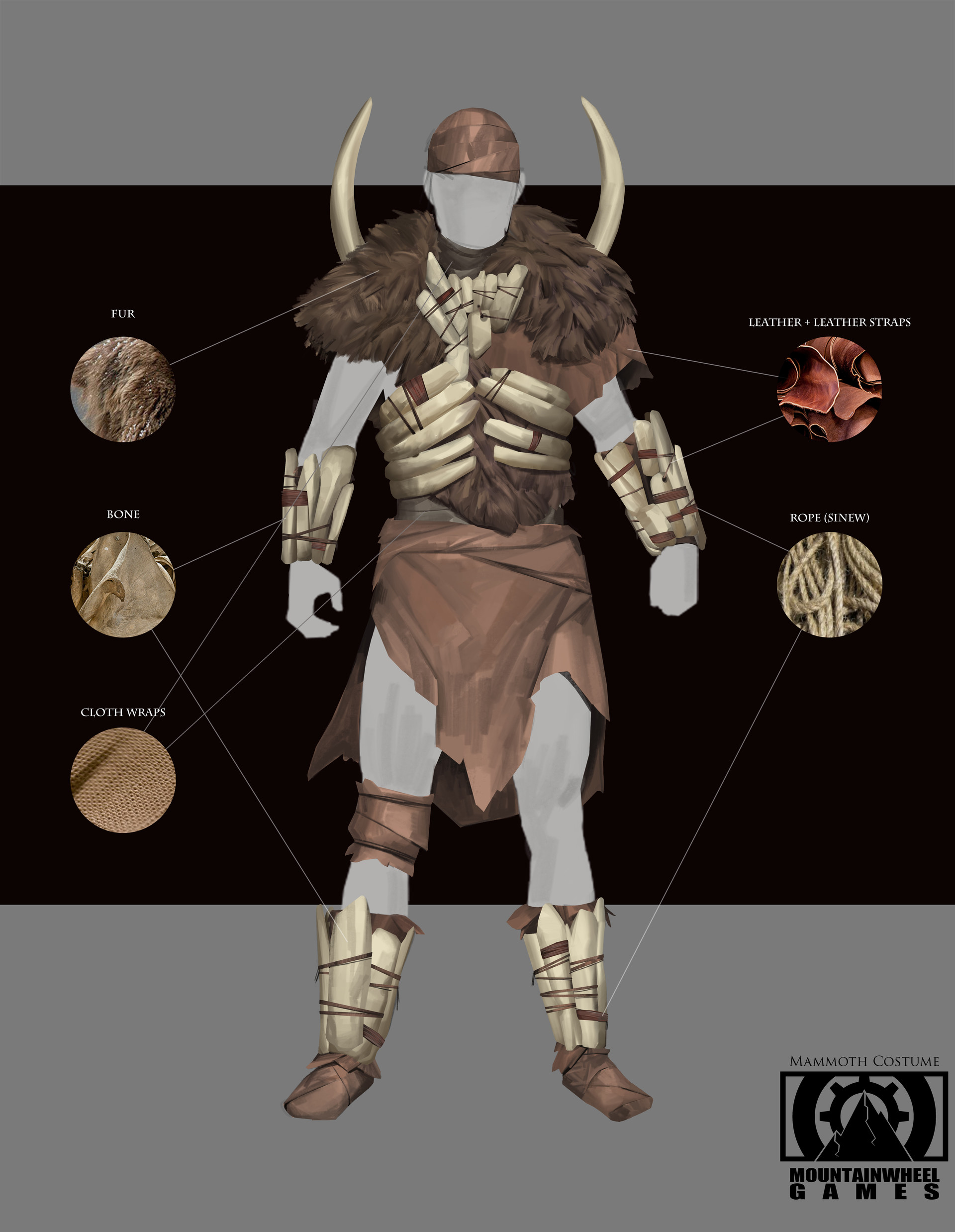 Lucaciu roland mammoth costume