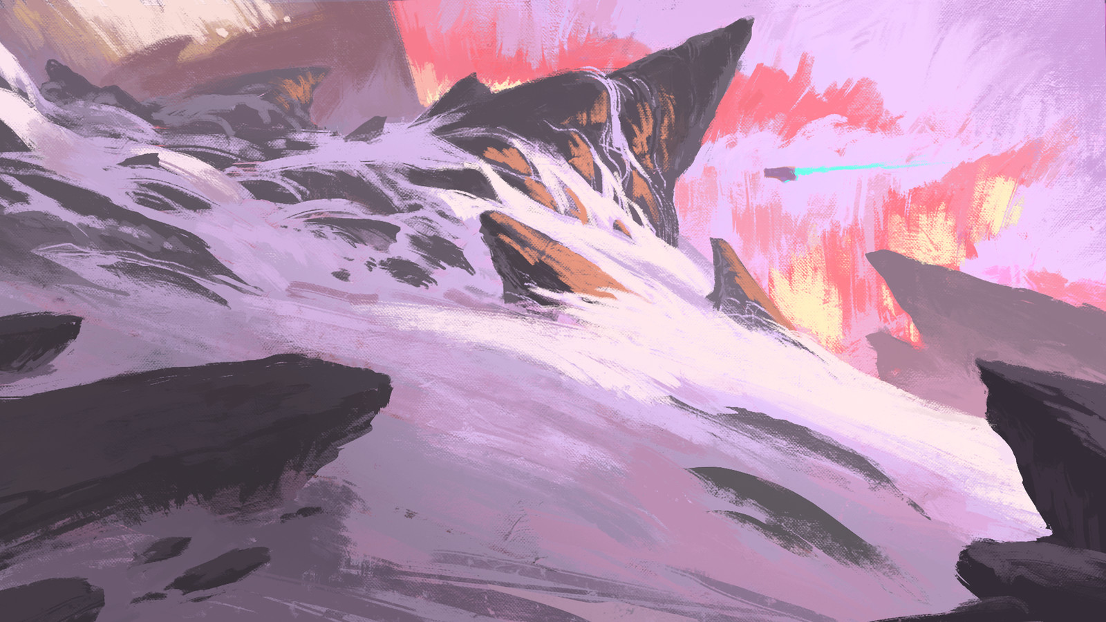 Mountains sketch