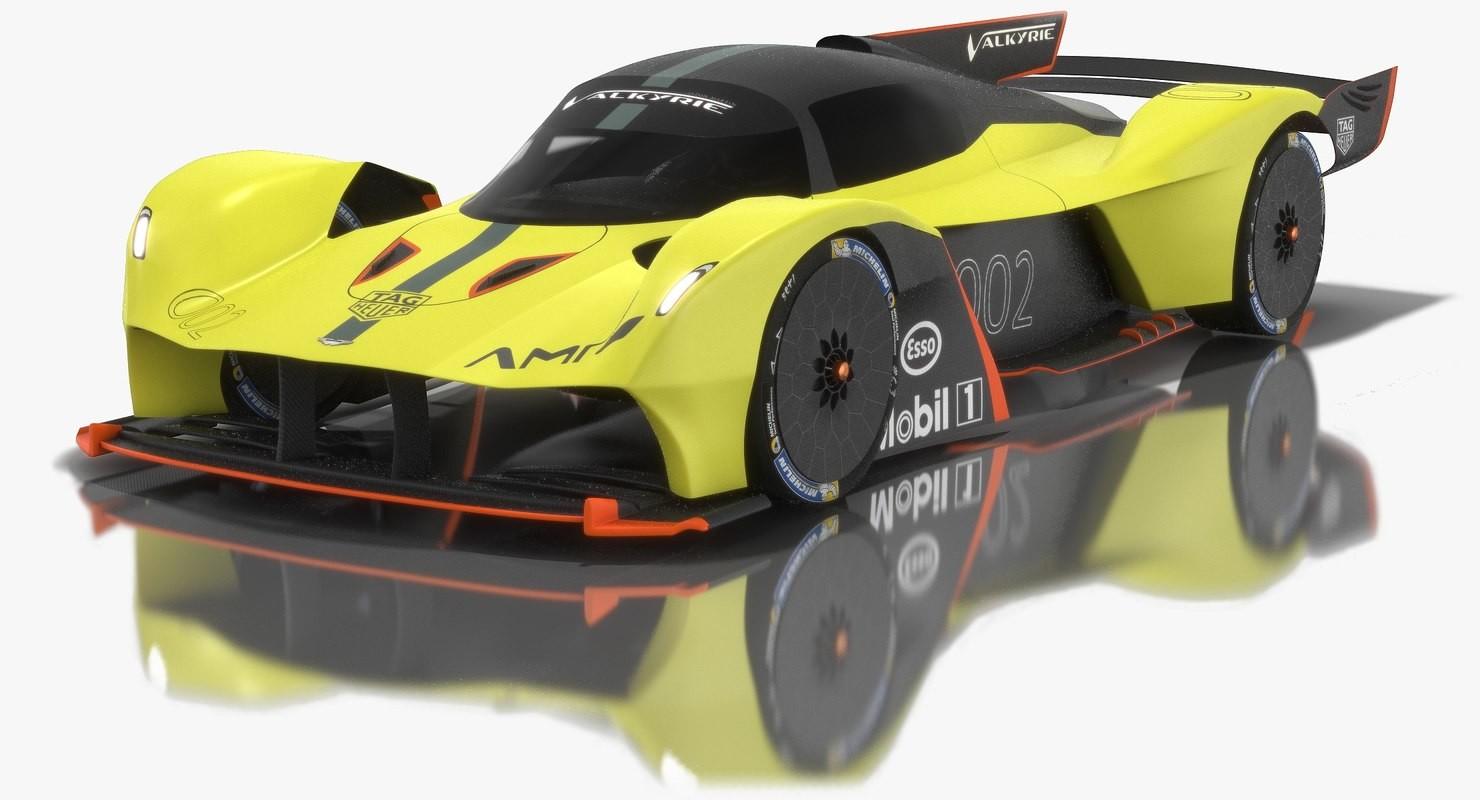 Oleksii Sergiyovych Aston Martin Valkyrie Amr Pro 3d Model