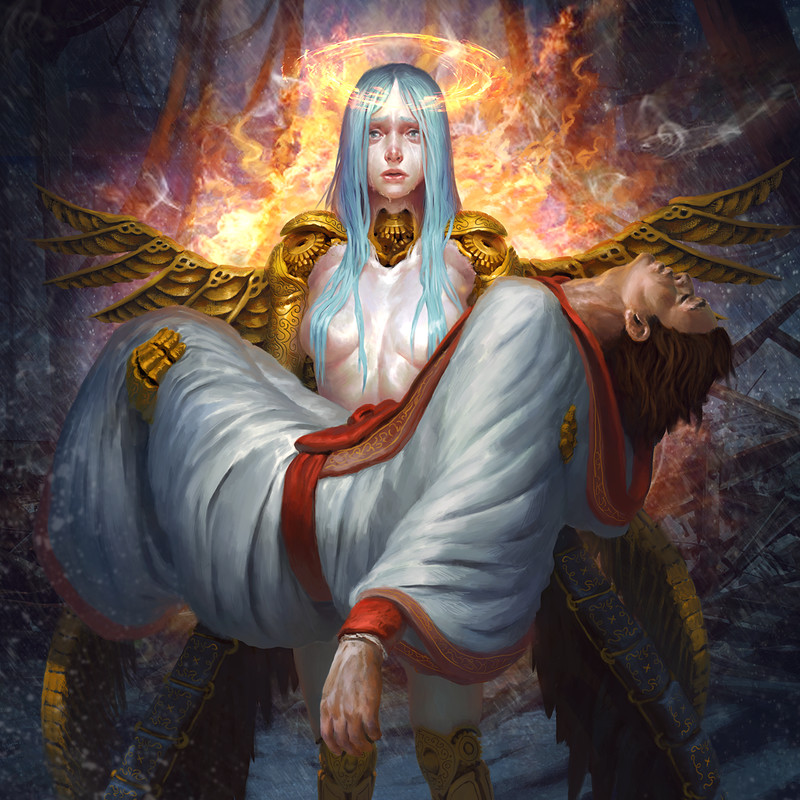 Legend of the Cryptids - Manmade Angel Adrigail - Regular version