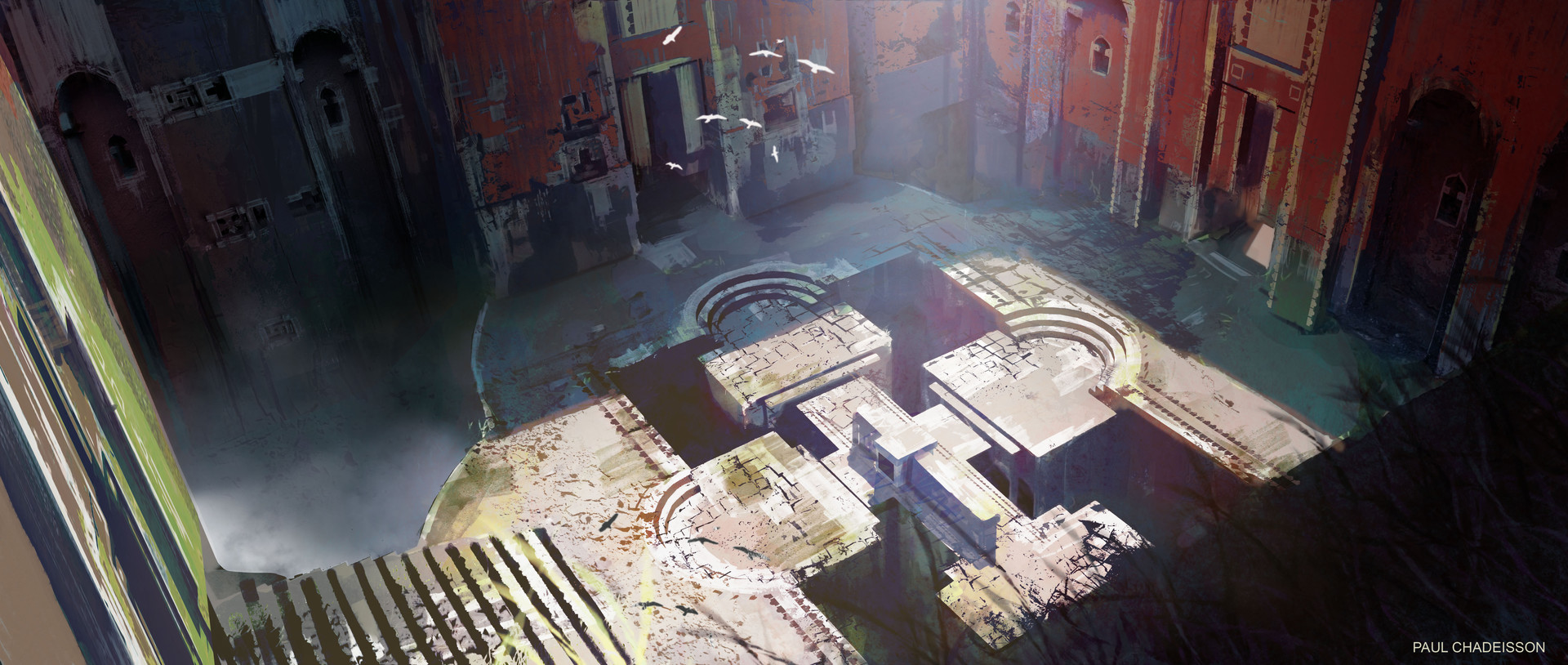Paul chadeisson concept art test temple 02c