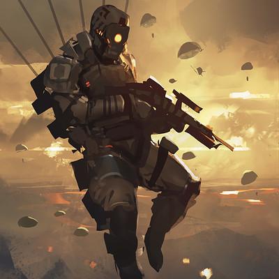 Balance sheet paratrooper