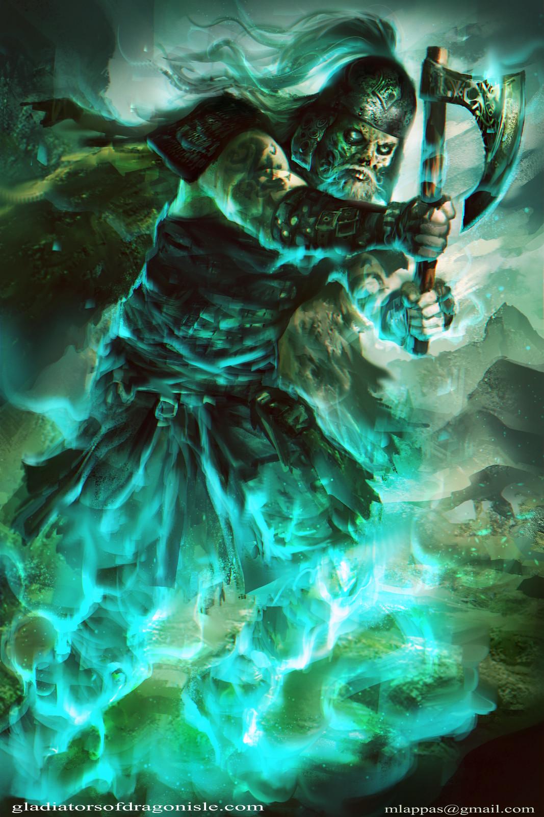 Death Wisp-Gladiators of Dragon Isle|board game