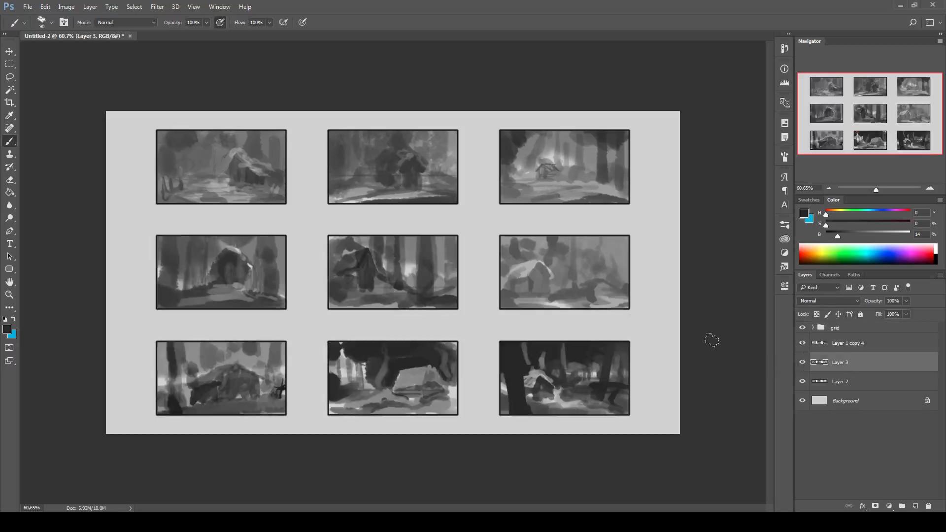 Process Image 01 - Thumbnailing