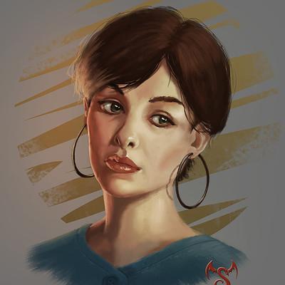 Markus stadlober portrait woman