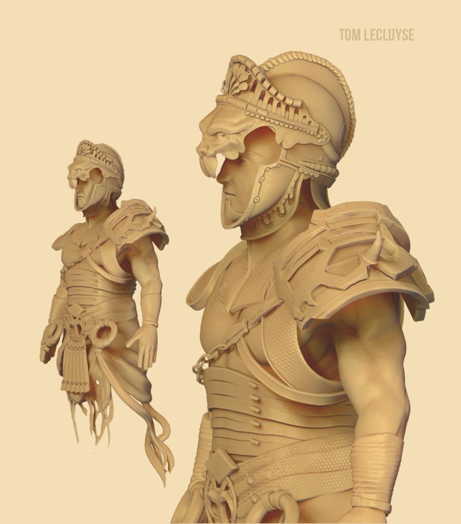 Torso Sculpt + Burgonet Helm