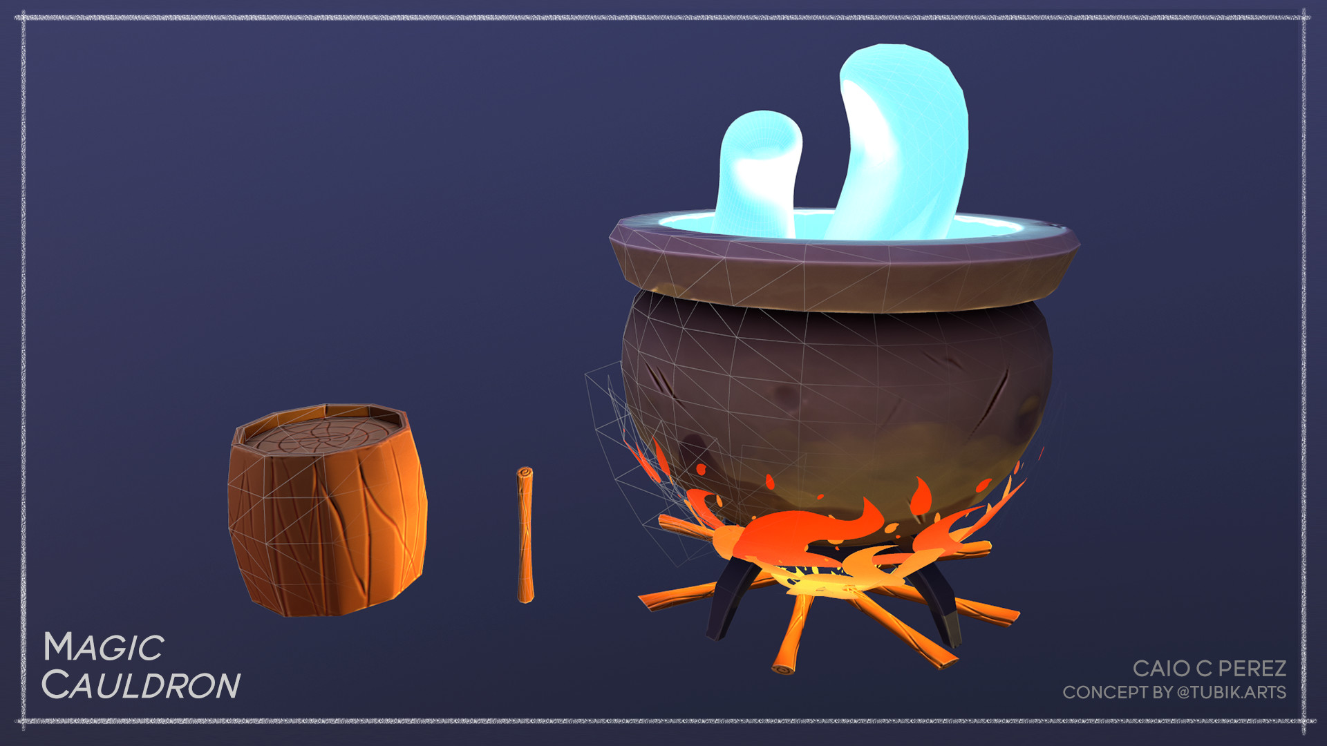 Caio perez cauldron 2