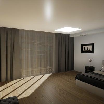 Damian sobczyk modern bedroom