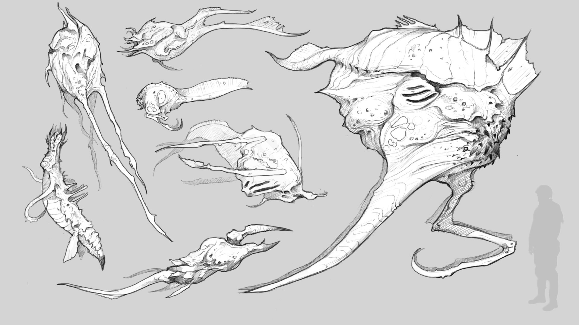 Bobby rebholz creaturesketchesweek2