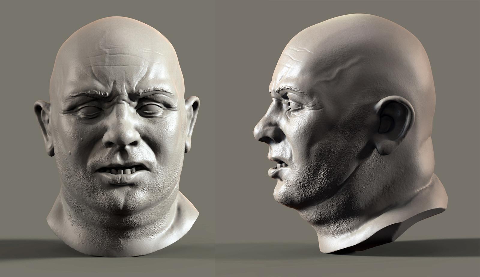 Dirk wachsmuth big bald male ks renders