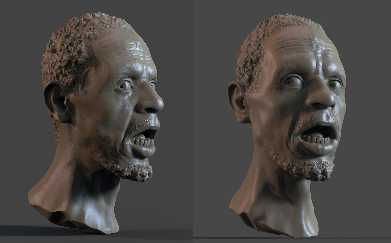Dirk wachsmuth black male afraid ks renders