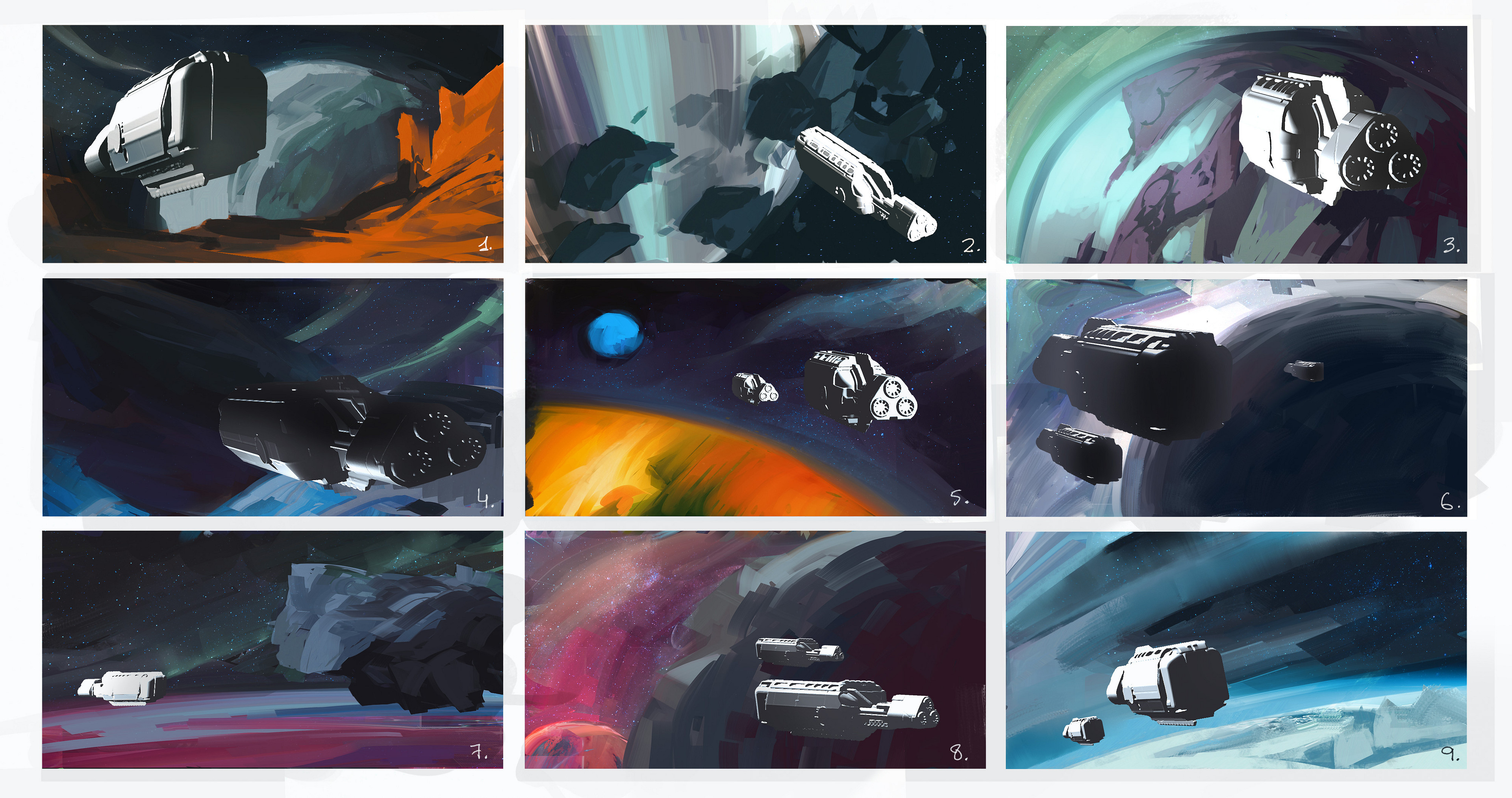 Exploration color thumbnails