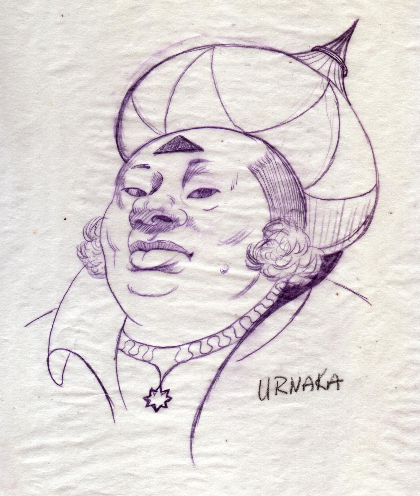 Umaka, Dwarf Sorceress