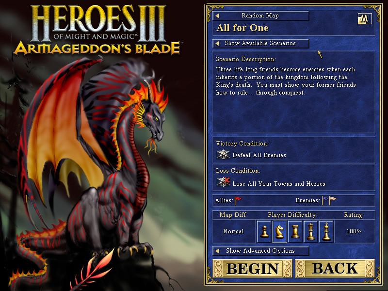 The Black Dragon, User Interface