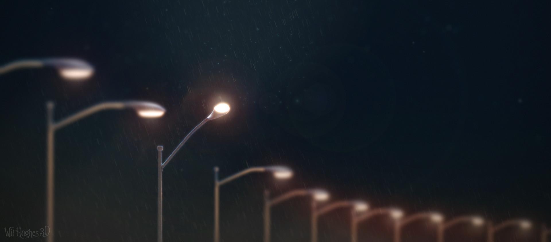 Wil hughes streetlamp