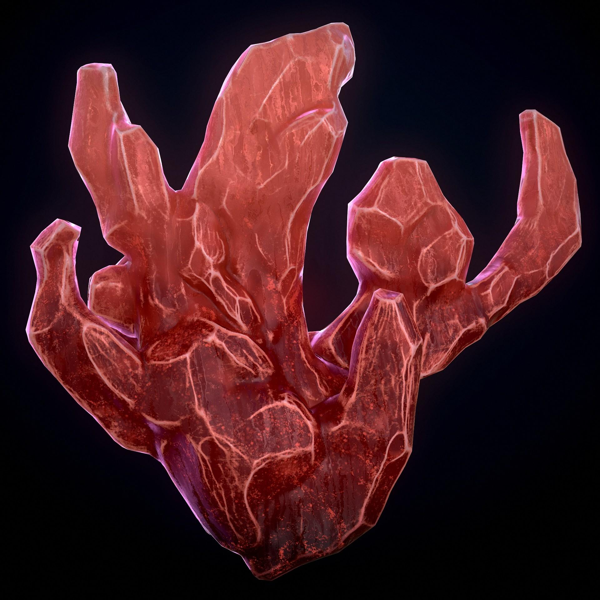 Andrew krivulya crystal render 2