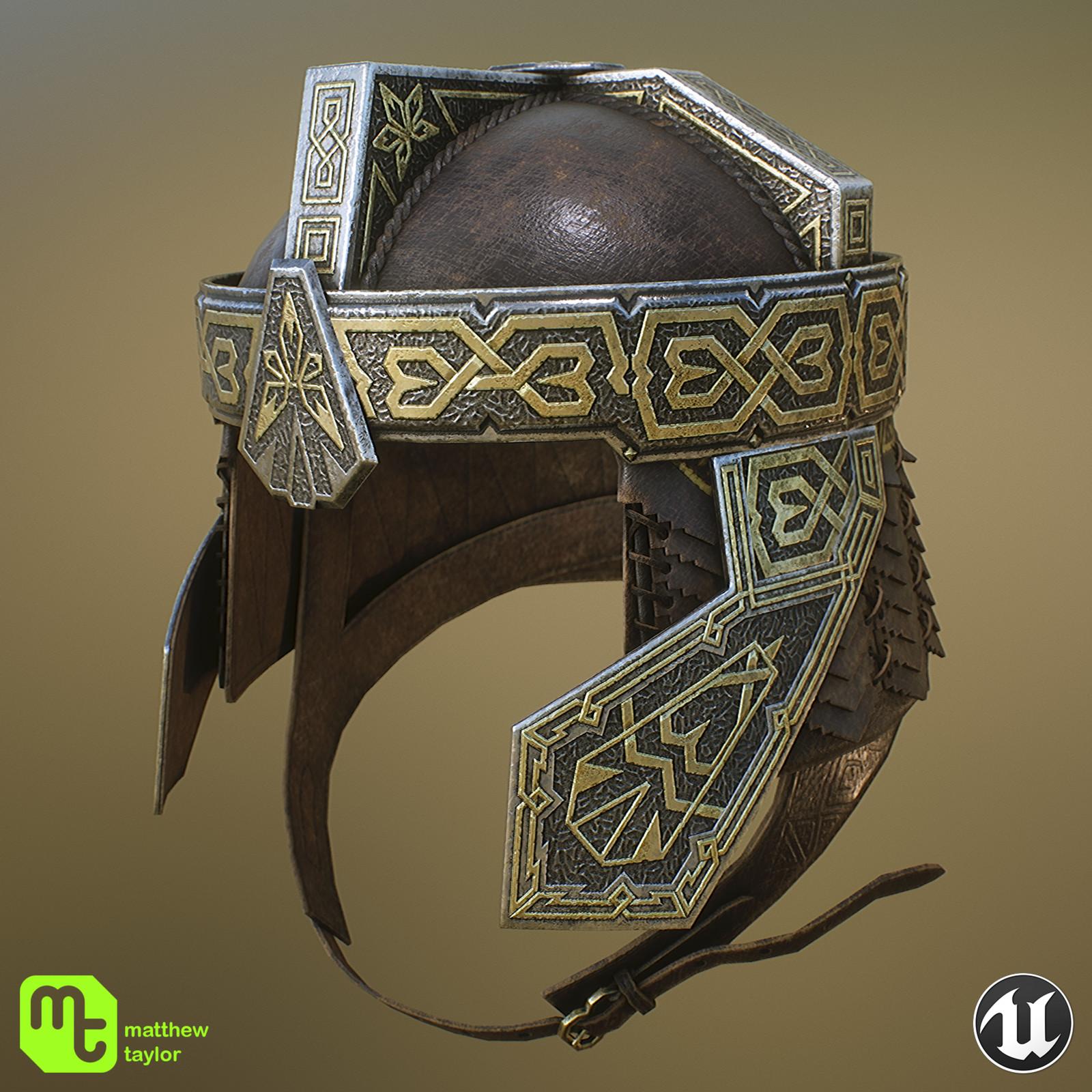 Gimli's Helmet - rendered in Unreal Engine 4.
