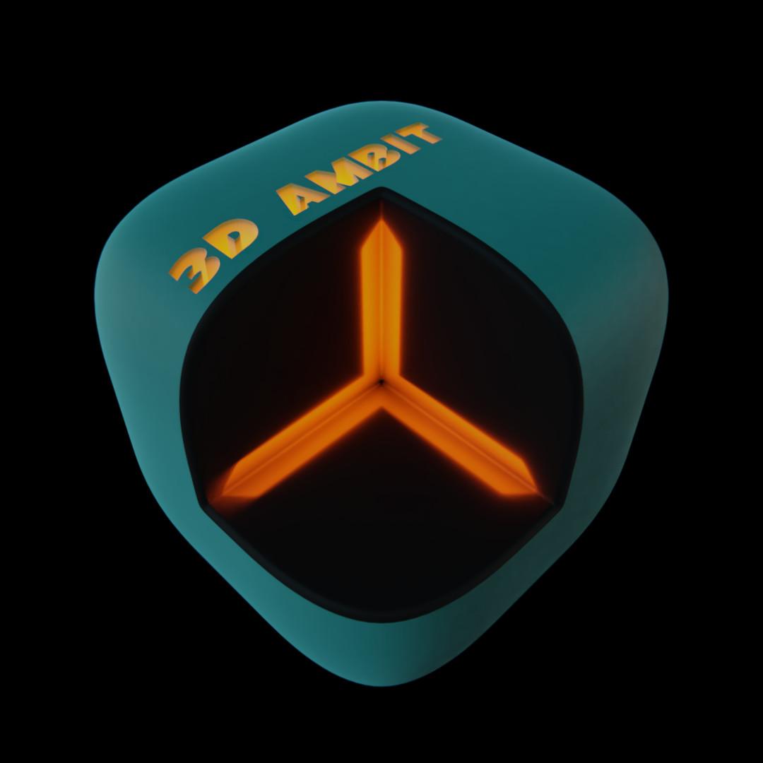 3D Ambit logo