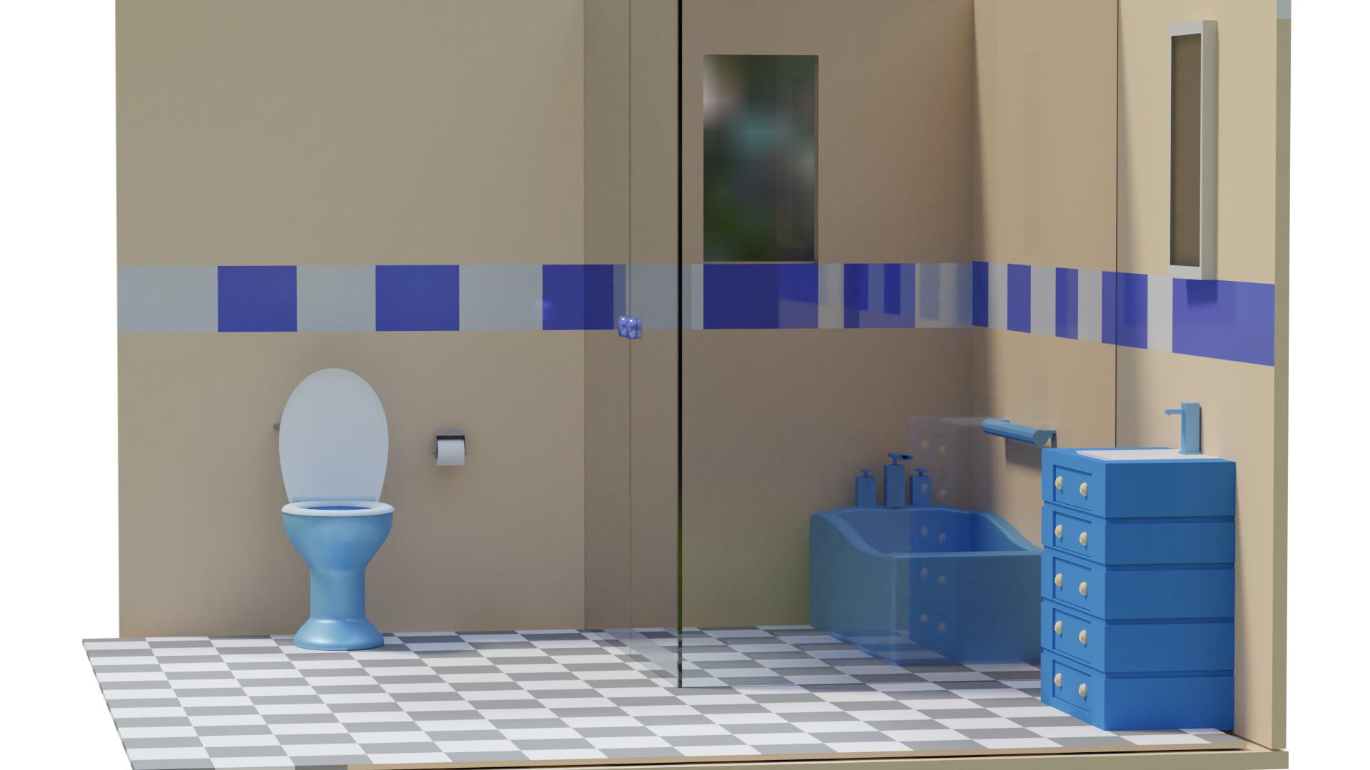 Bathroom. Gabriele Giles Bathroom1