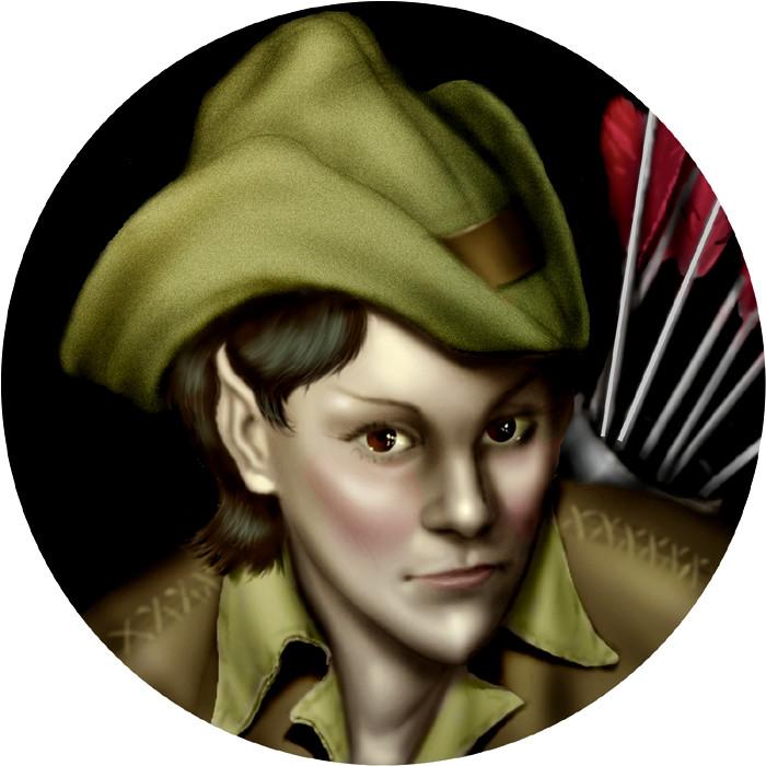 Avanine, Elf Archer