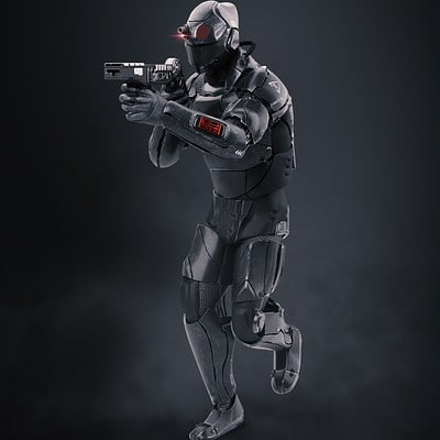 Tactical Sneaking Suit Concept