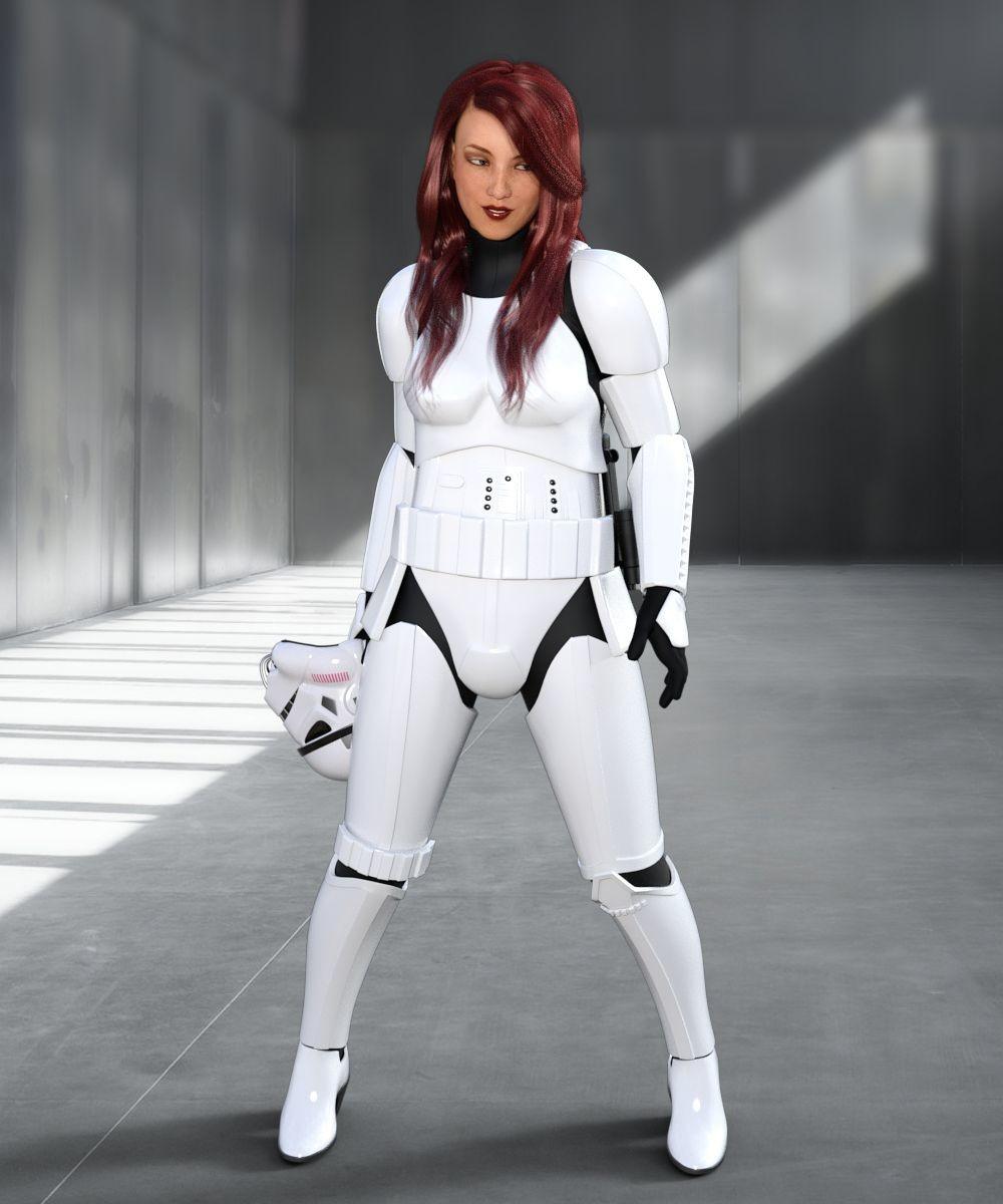 ArtStation - Stormtrooper Outfit for Genesis 8 Female