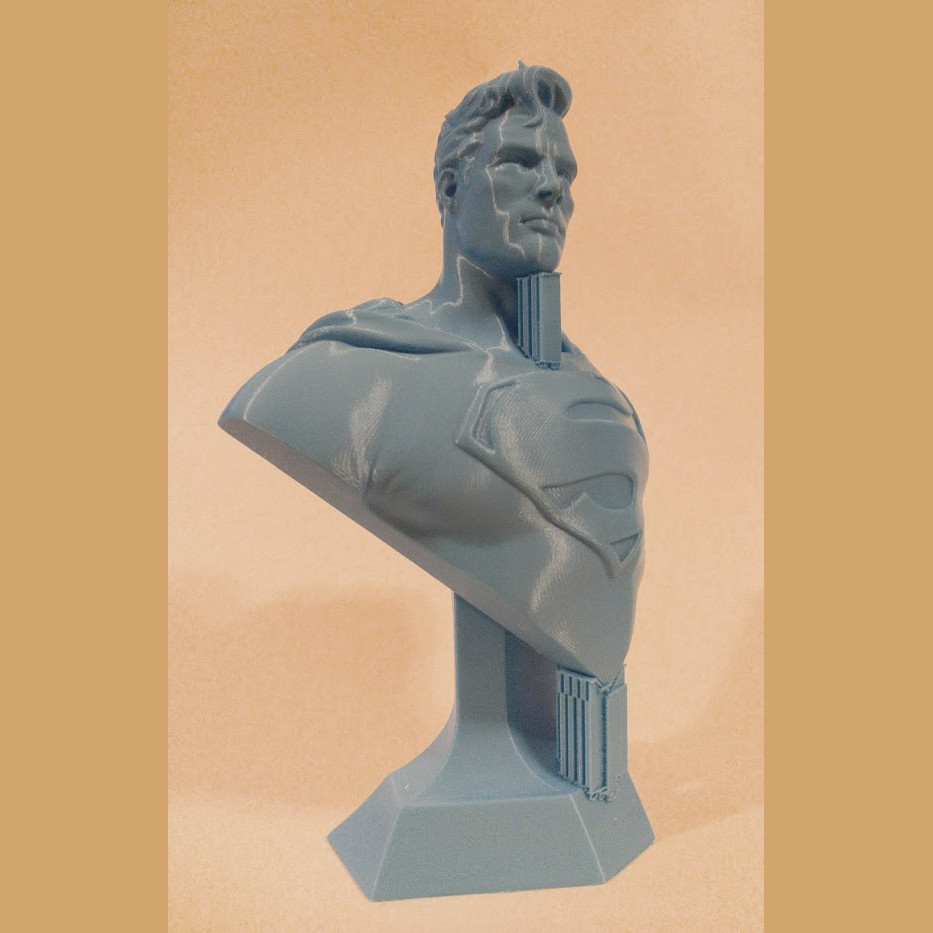 David ostman superman bust1 supports2