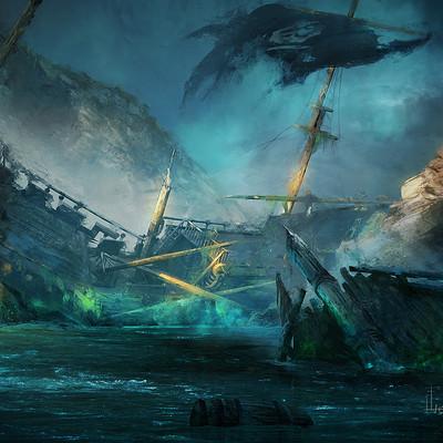 Matt hubel shipwreck web