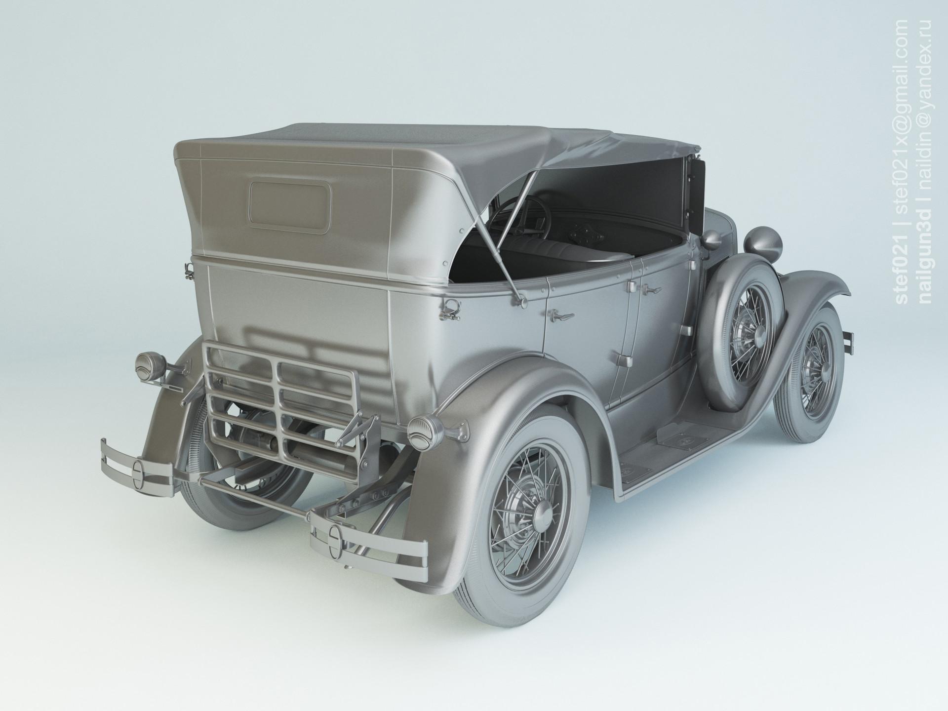 Nail khusnutdinov a0006 ford a phaeton 1931 clay 1