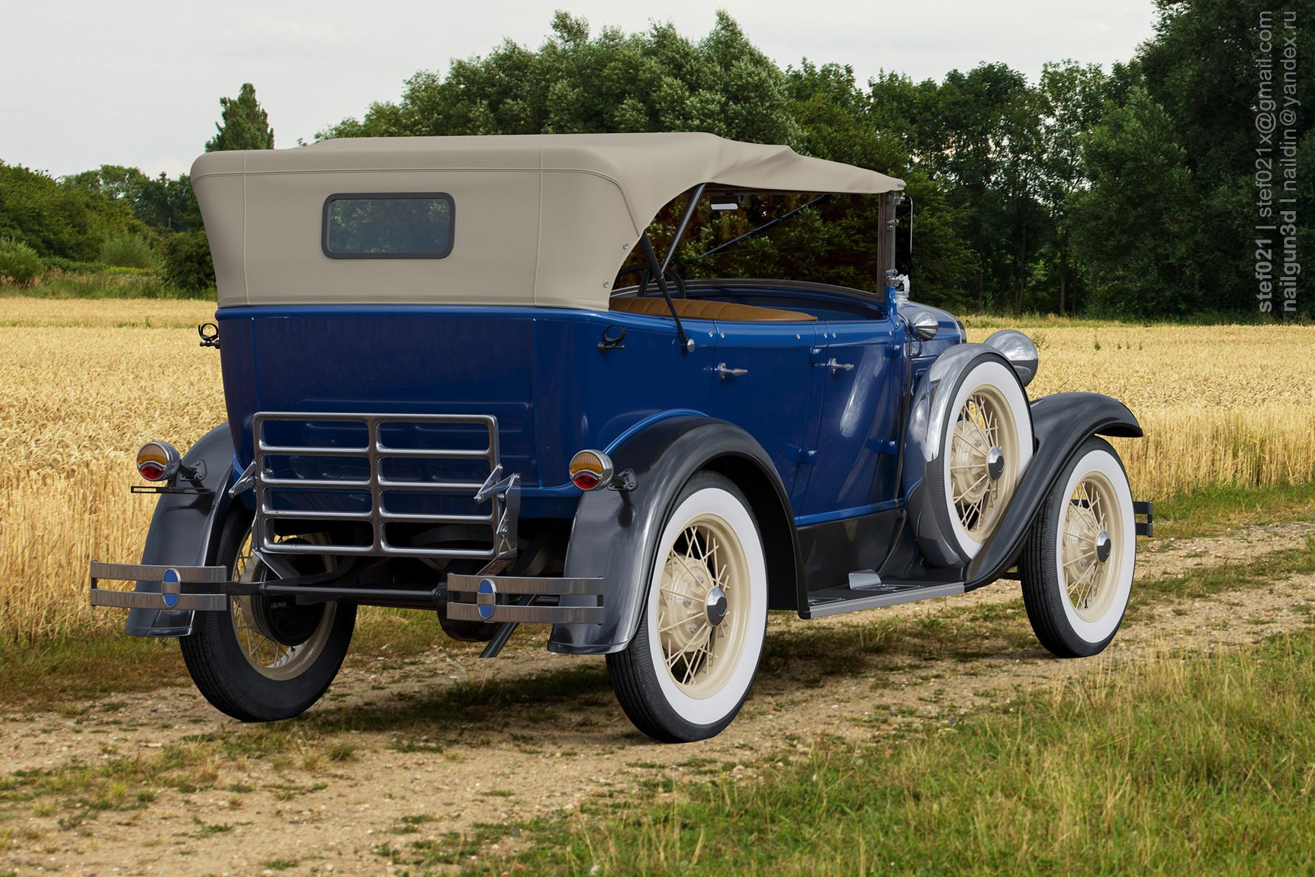 Nail khusnutdinov a0006 ford a phaeton 1931 render 2