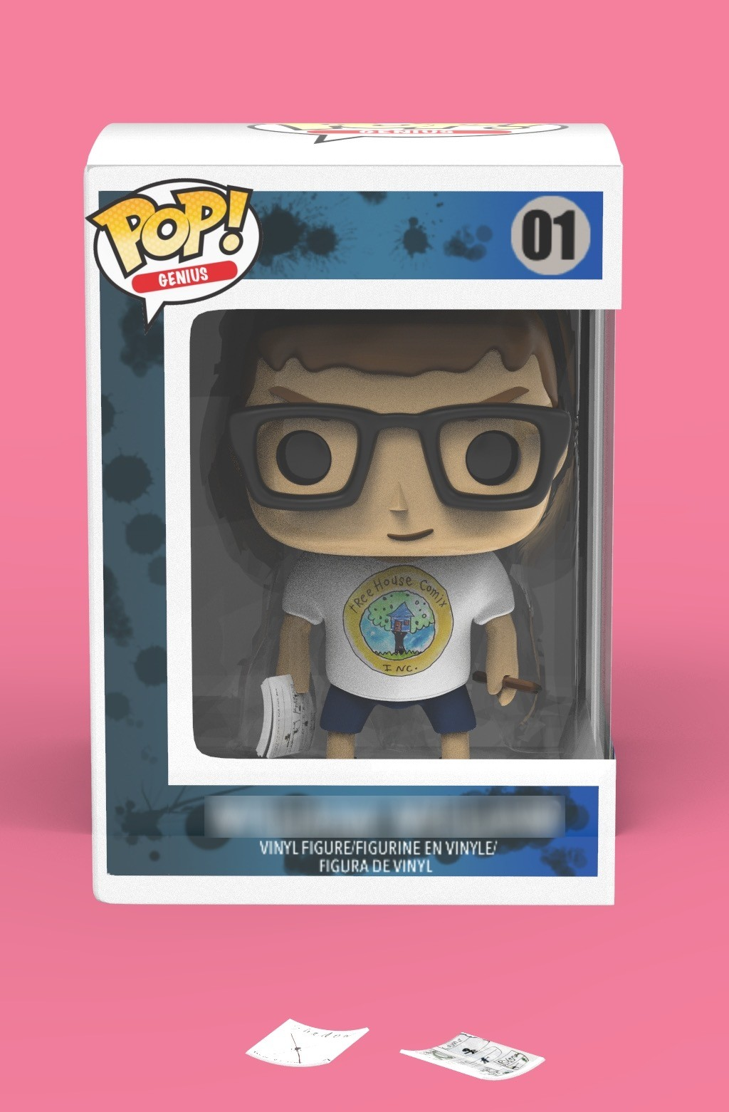 Hugh o donnell funko william front