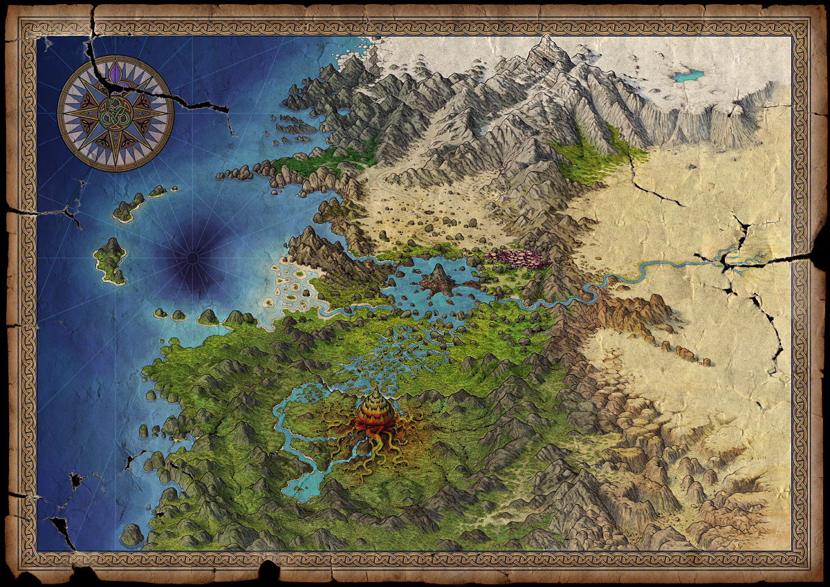 The Wormworld Map