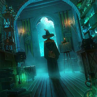 Manon alexandre illustration academie des sorciers bd