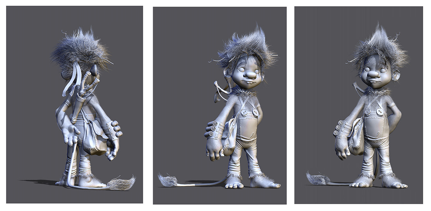 Sculpt on zbrush for Trym.