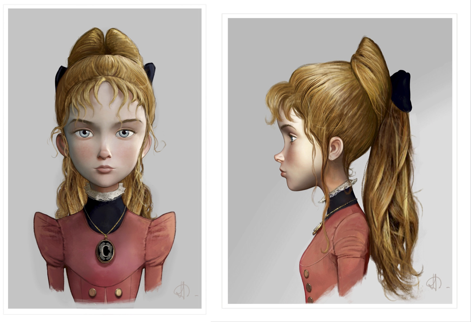 Camille -Character design board