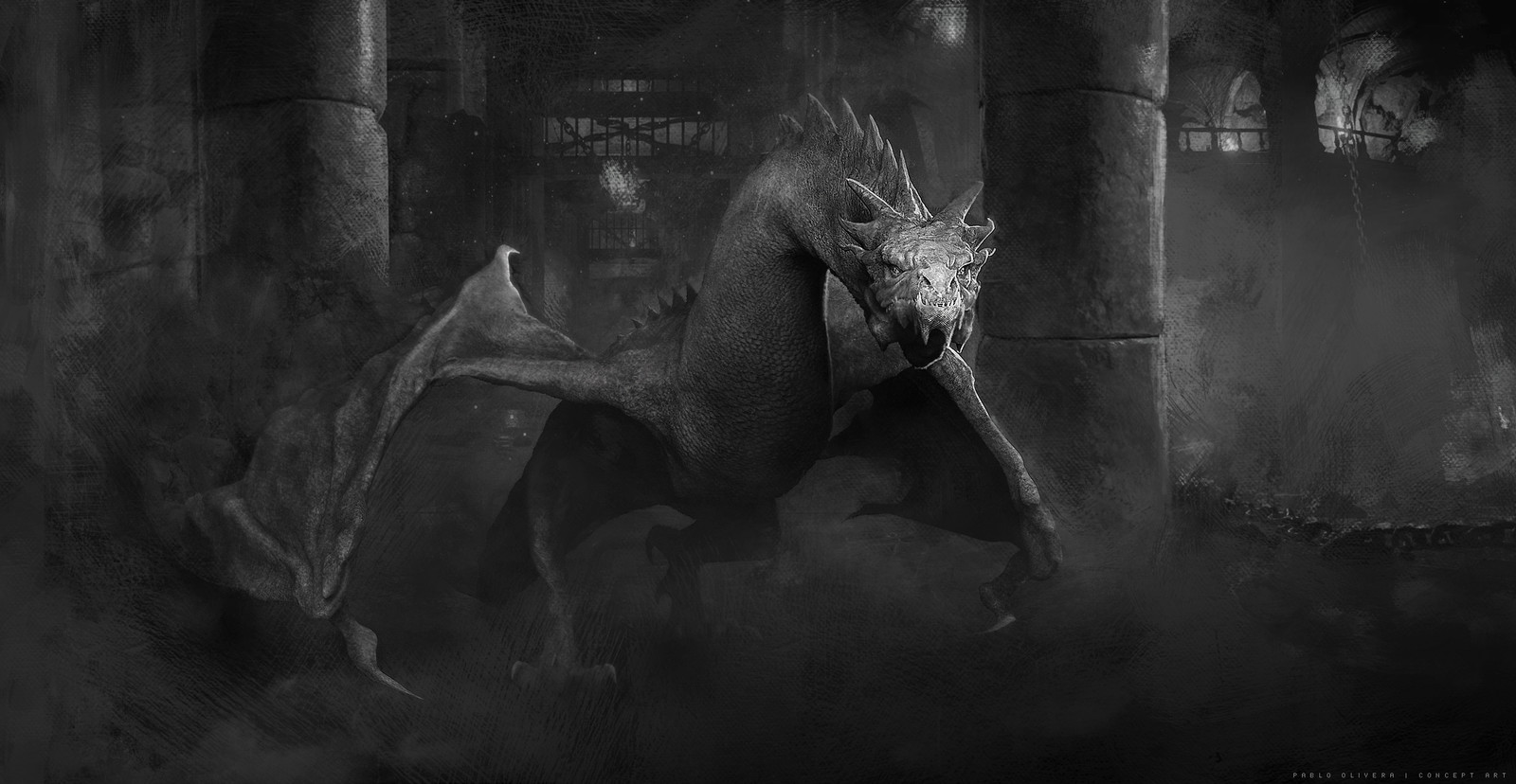Wyvern sketch