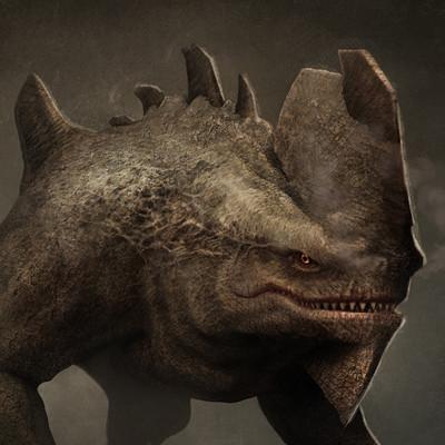 Pablo olivera render monster texturado hd final 01