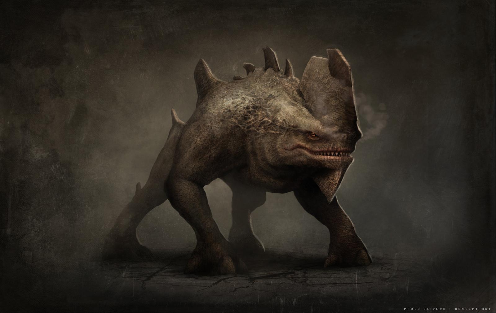 Creature Design ( sketch )