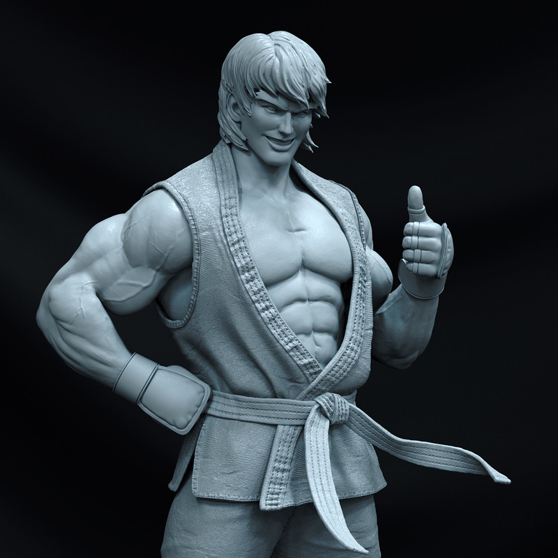 Ken - Street Fighter 1/8 - Pop Culture Shock