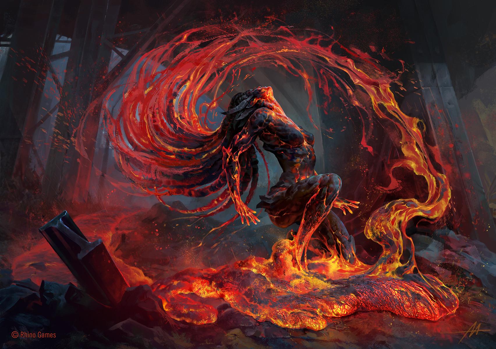 artstation mythgard volcanic risi alexandre mokhov