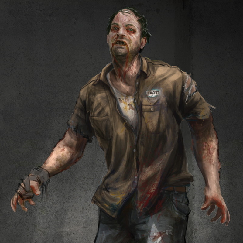 Survival game characters