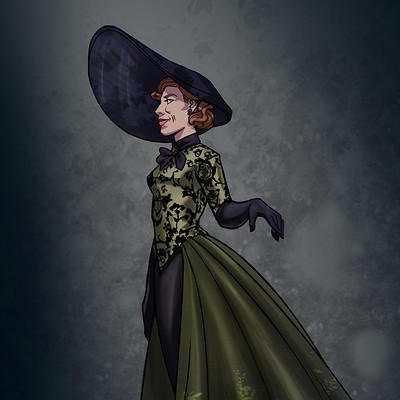 Jaria rambaran costume redraw cinderella