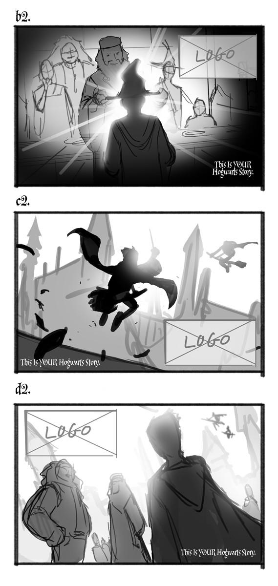 First round sketches