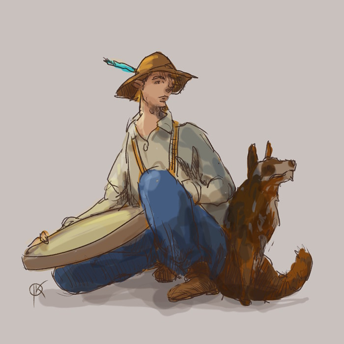 Jan deerbard krycinski 2018 04 07 jim wild west as challenge character